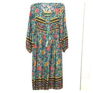 Dresses & Skirts - Boho Style Floral Dress